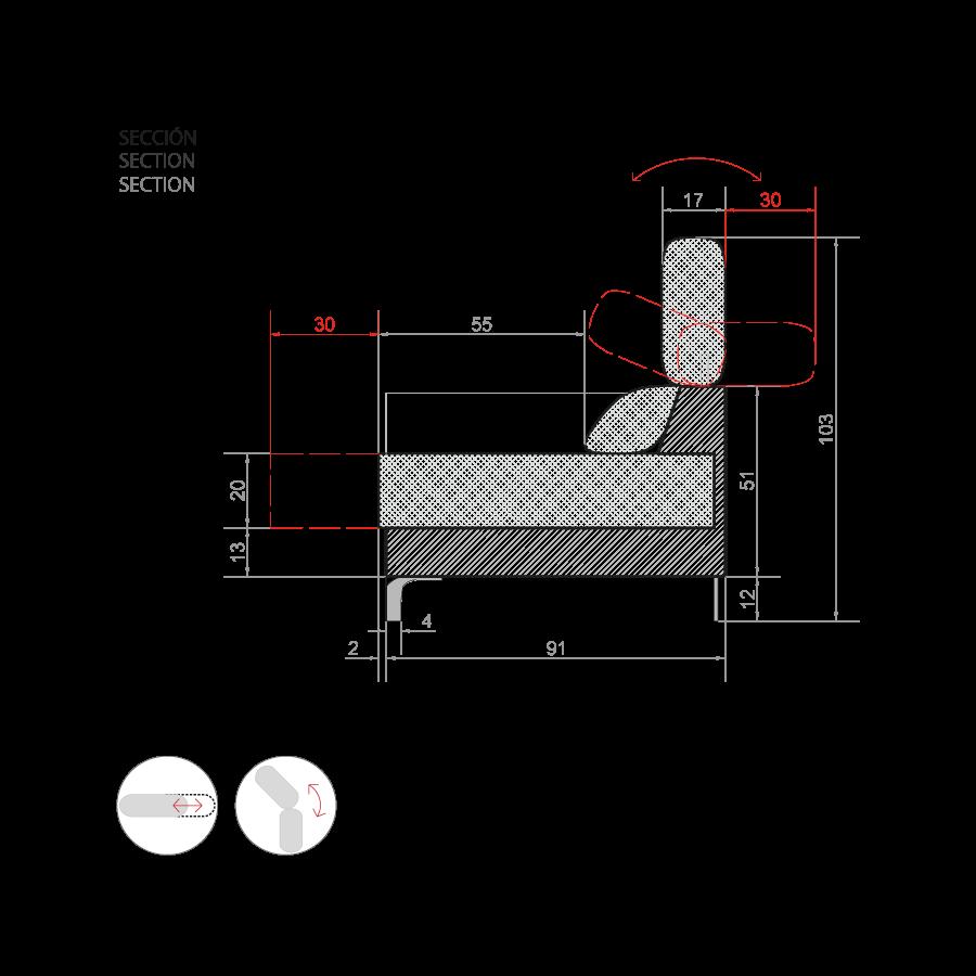 medida sofa white 1