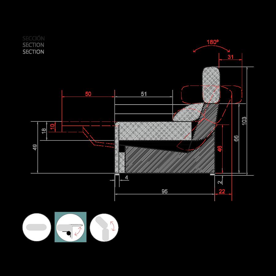 medida sofa suecia
