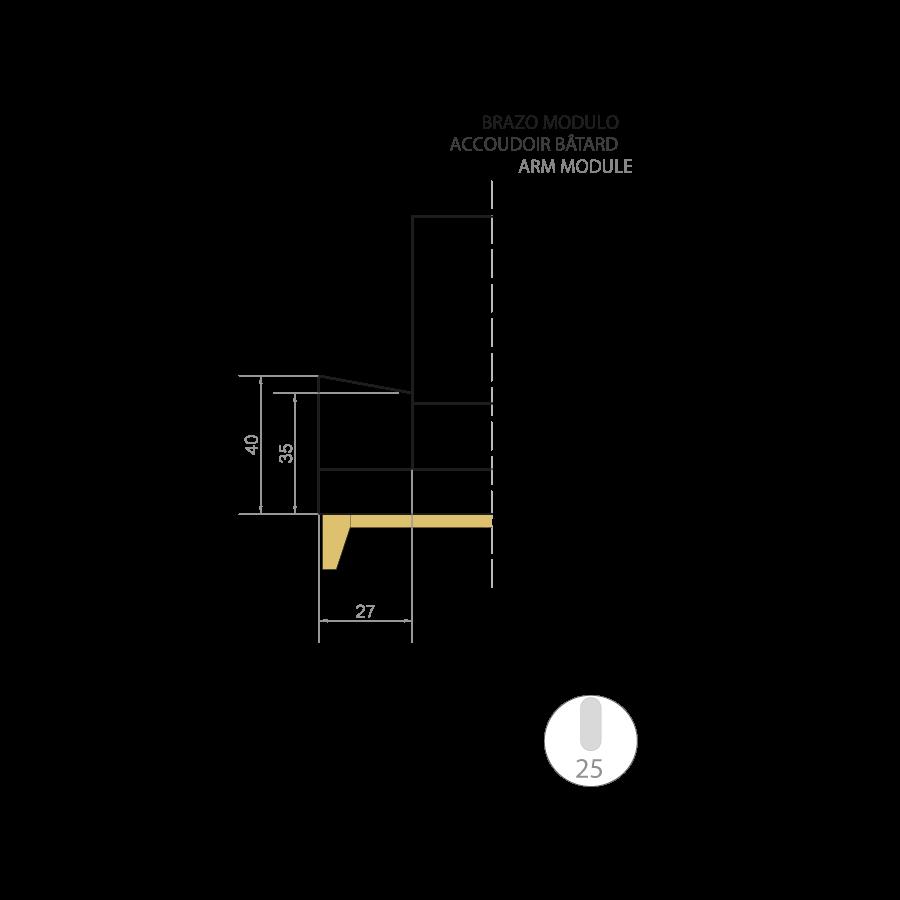 medidas emile sofa